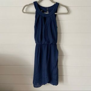Navy Dress with Belt size S